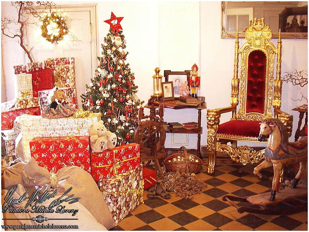 weihnachtsdeko nostalgie weihnachtsbaum weihnachtsmann. Black Bedroom Furniture Sets. Home Design Ideas